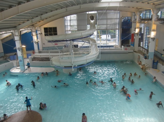 Swimming Pools London With Slides Example