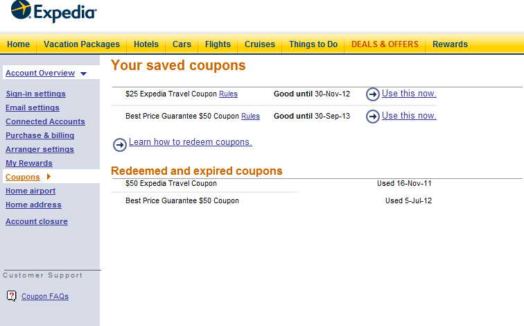 Coupons For Expedia Hotel Rooms