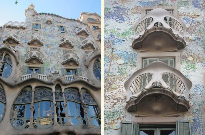 Gaudi s casa batll in barcelona the selfish years - Casa mila or casa batllo ...