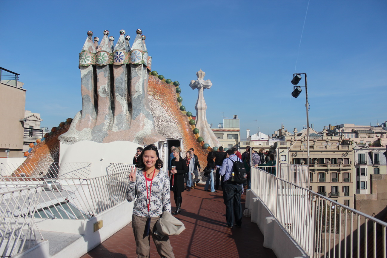 Gaudi S Casa Batll 243 In Barcelona The Selfish Years