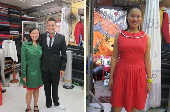 Coat Suit and Dress