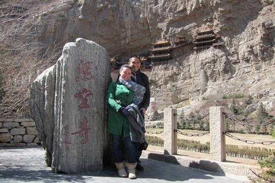 Datong, China - Hanging Monastery
