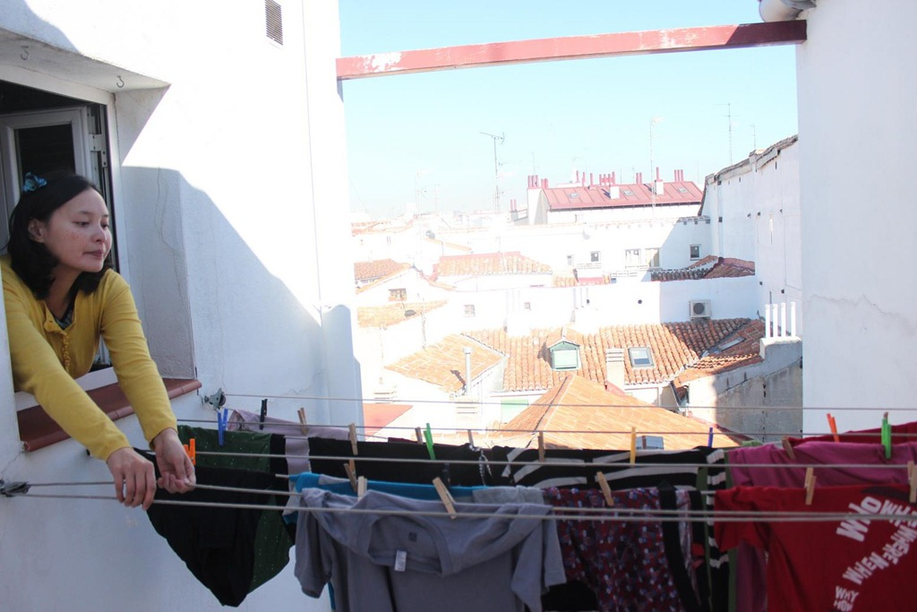 Laundry in Madrid