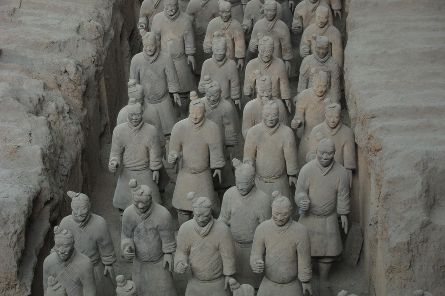 A Little Underwhelmed in Xi'an: The Terracotta Warriors