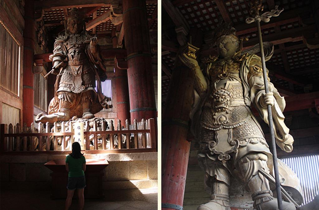 Giant Boddhisatvas
