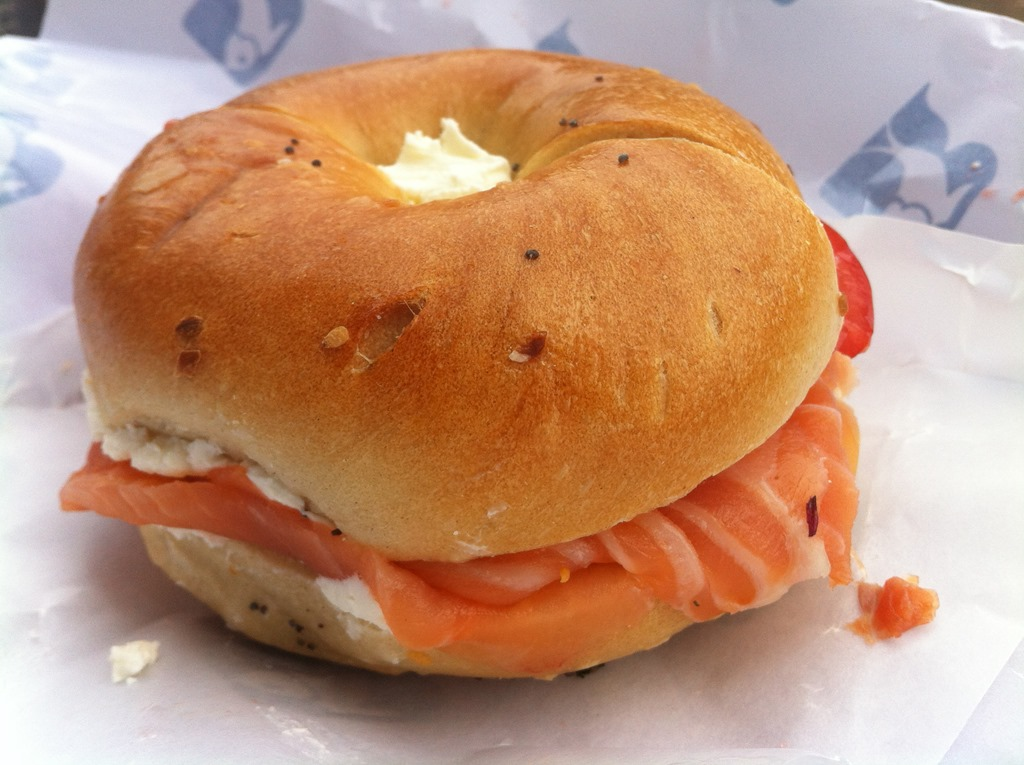 how to eat a bagel L'escale bagel's - order online - delivery through eatch by just eat to your home or office - fast and easy.