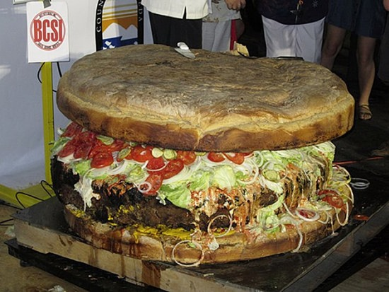 Largest Hamburger