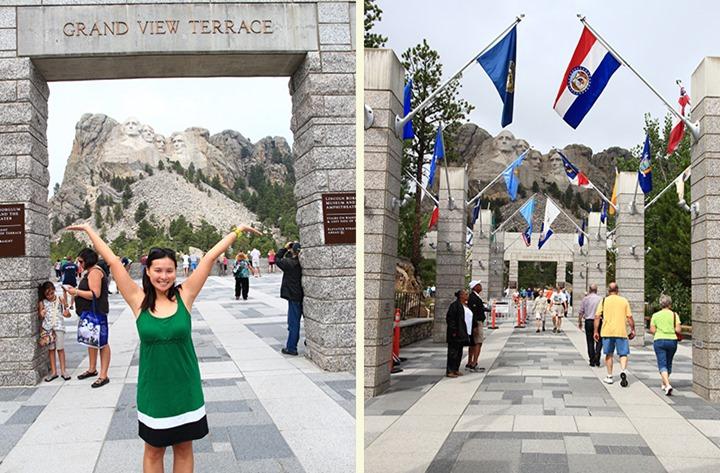Mt Rushmore Entrance