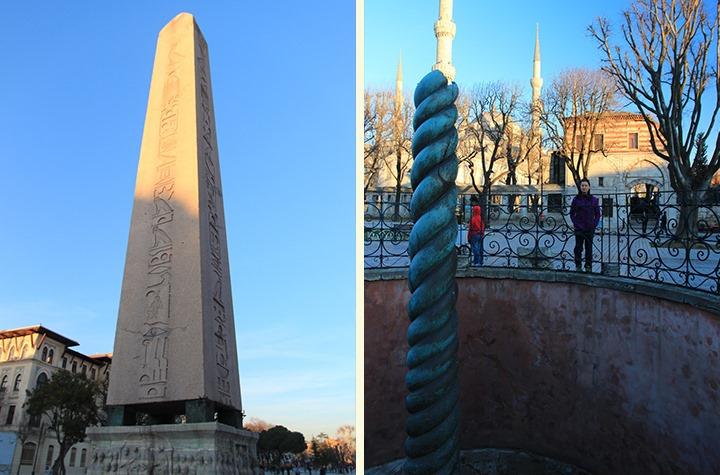 Serpentine Column