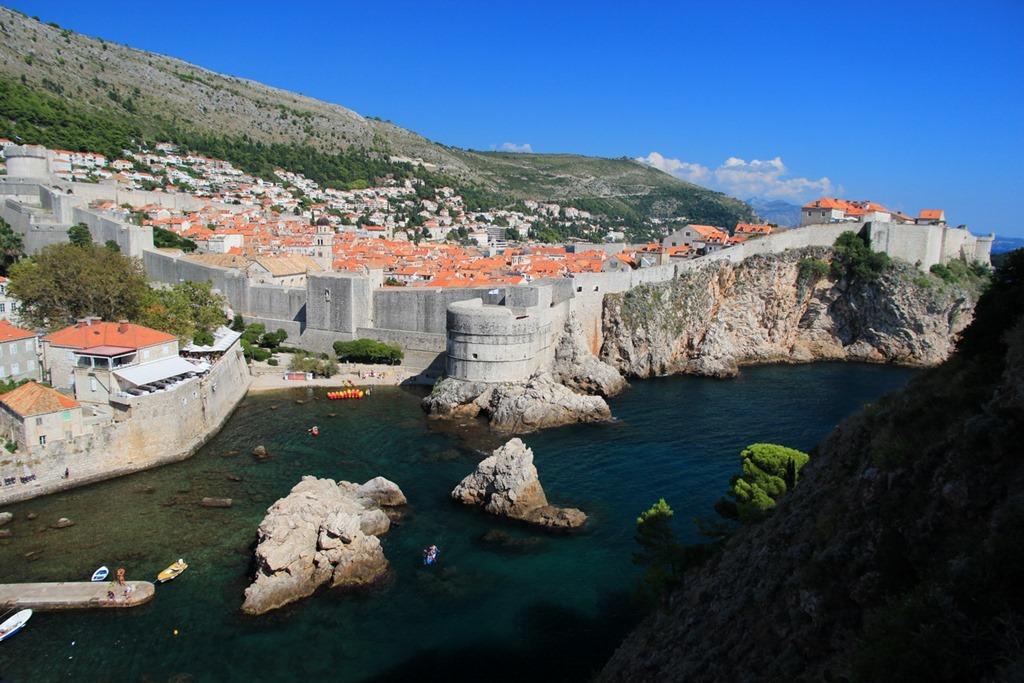 Dubrovnik Wall 001